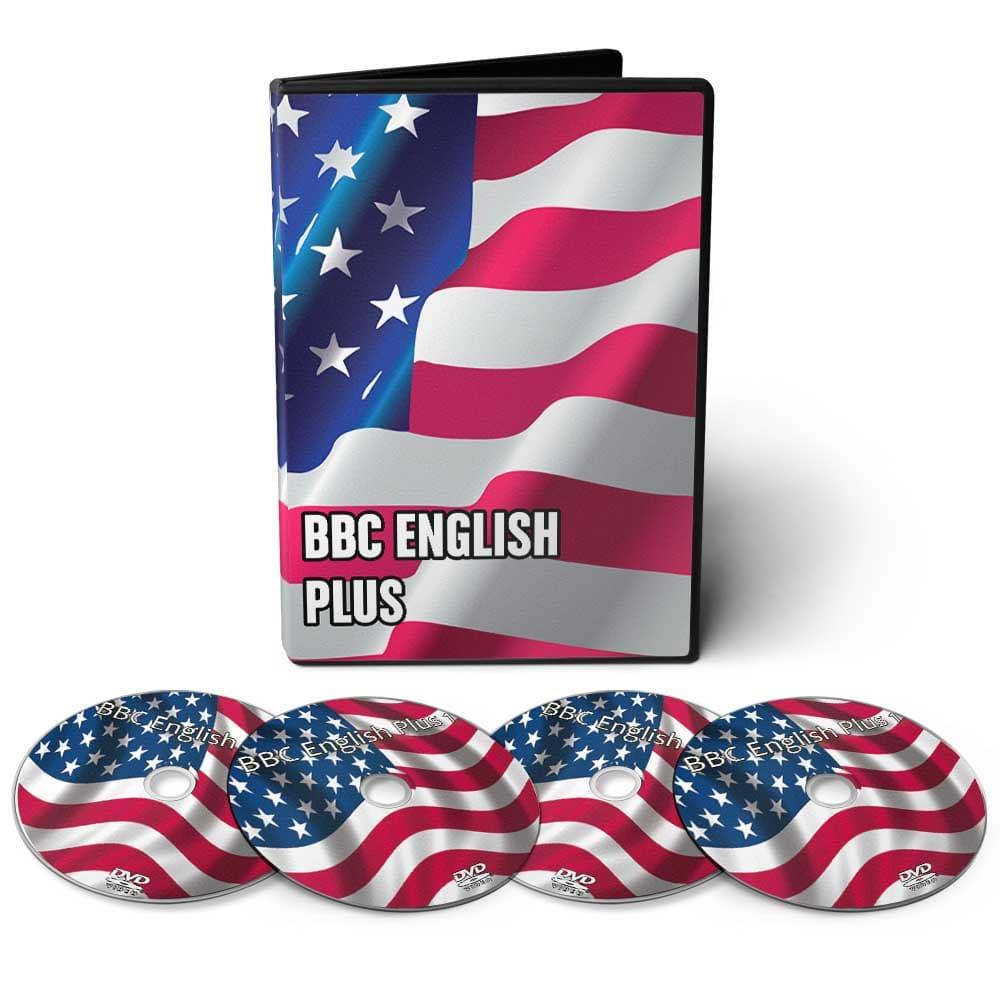 Curso de Inglês BBC English Plus em 10 DVDs Videoaula  - Aprova Cursos
