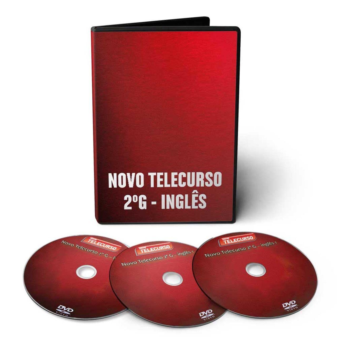 Curso de Inglês - Ensino Médio em 03 DVDs Videoaula