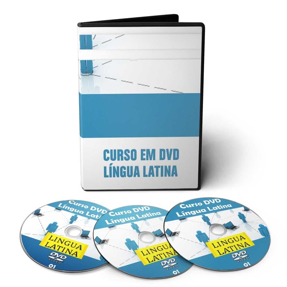 Curso de Língua Latina Latim em 03 DVDs Videoaula