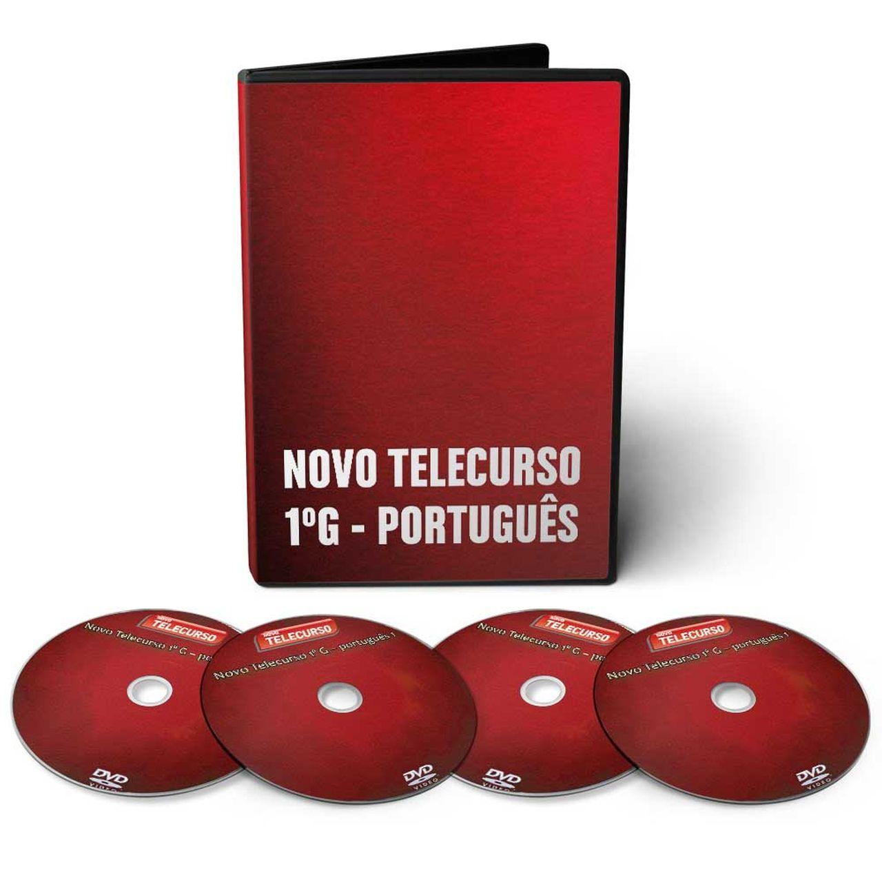 Curso de Língua Portuguesa em 04 DVDs Videoaula
