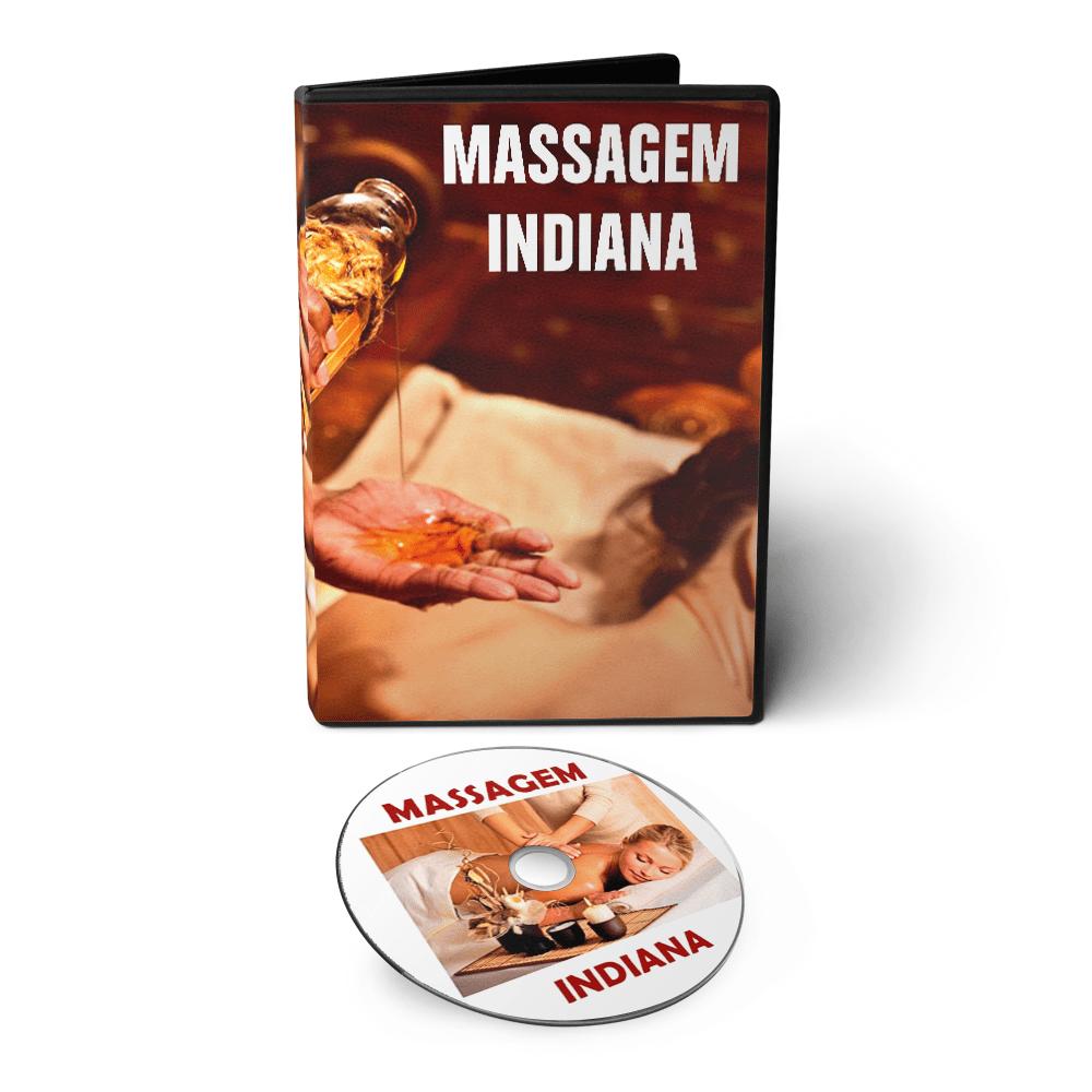Curso de Massagem Indiana em DVD Videoaula