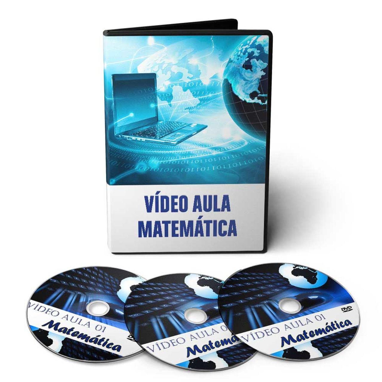 Curso de Matemática em 03 DVDs Videoaula
