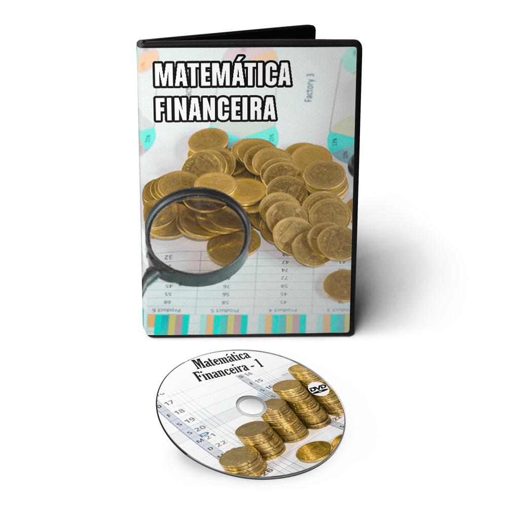 Curso de Matemática Financeira em DVD Videoaula
