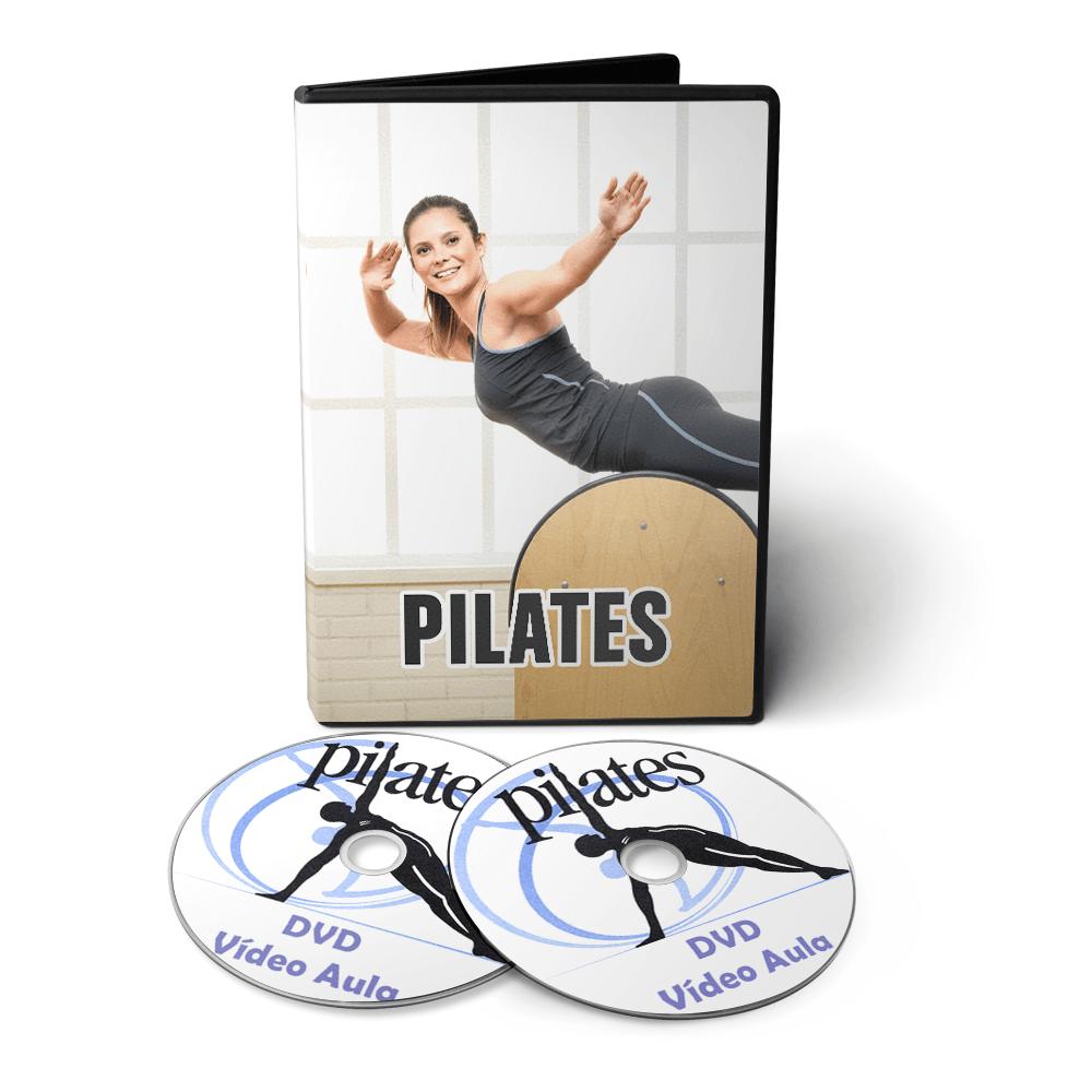 Curso de Pilates em DVD Videoaula