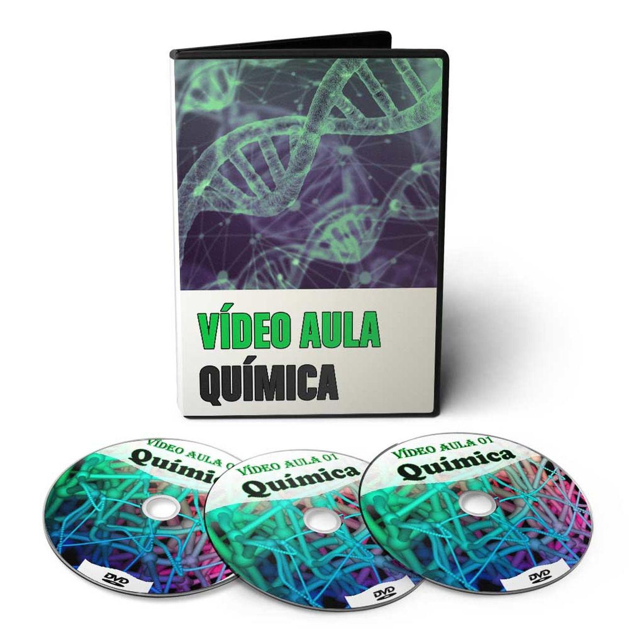 Curso de Química em 03 DVDs Videoaula