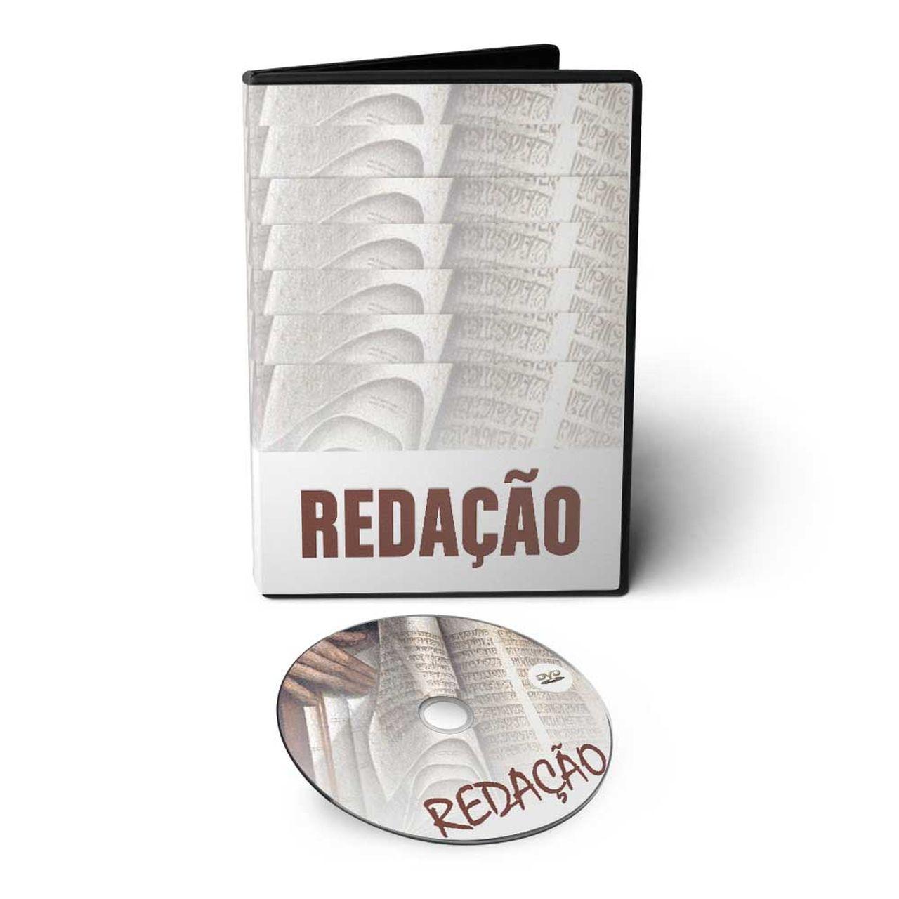 Curso de Redação em DVD Videoaula