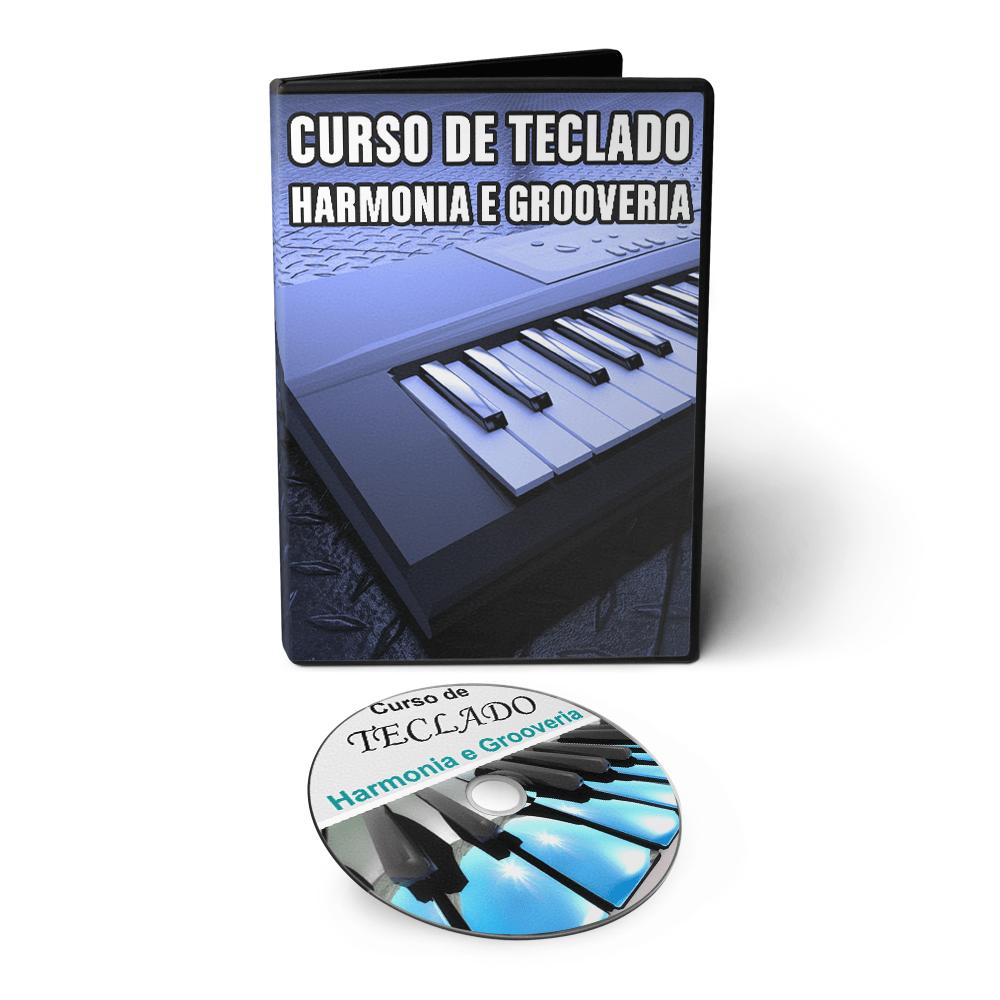 Curso de Teclado - Harmonia e Grooveria em DVD Videoaula
