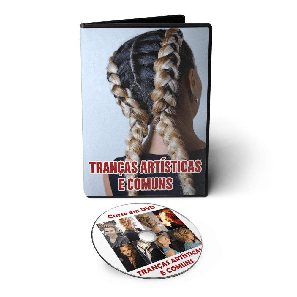 Curso de Tranças Artísticas e Comuns em DVD Videoaula  - Aprova Cursos