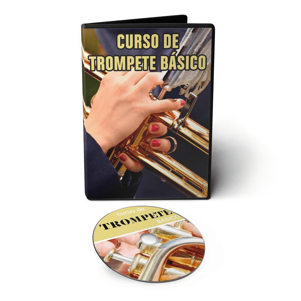 Curso de Trompete em 02 DVDs Videoaula