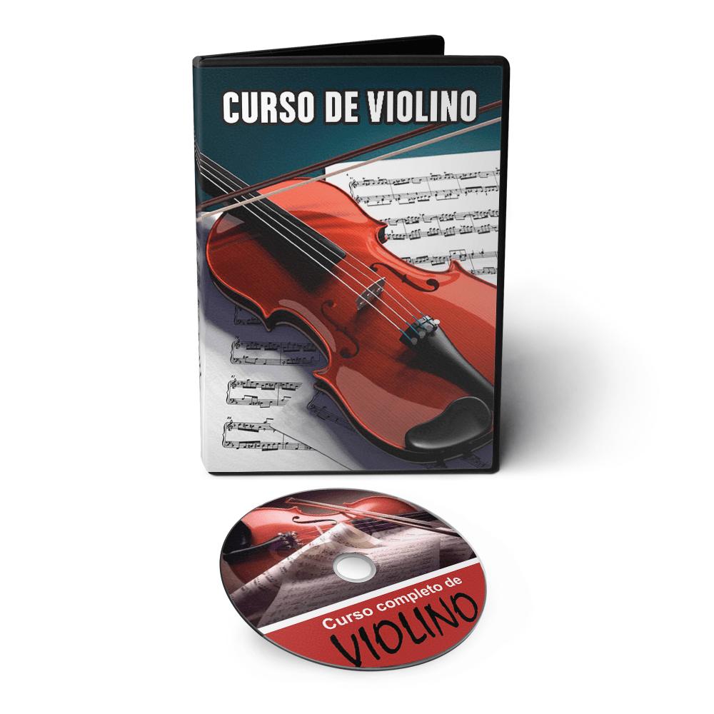 Curso de Violino do Básico ao Avançado em DVD Videoaula