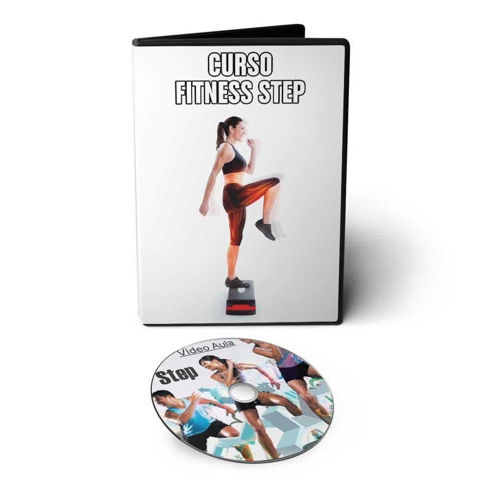 Curso Fitness Bodyfit Aerobic Step em DVD Videoaula  - Aprova Cursos
