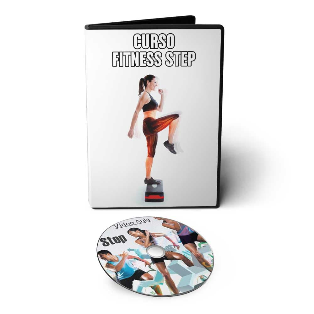 Curso Fitness Bodyfit Aerobic Step em DVD Videoaula
