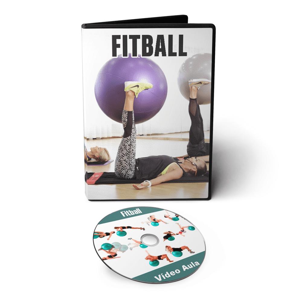 Curso Fitness Fitball em DVD Videoaula