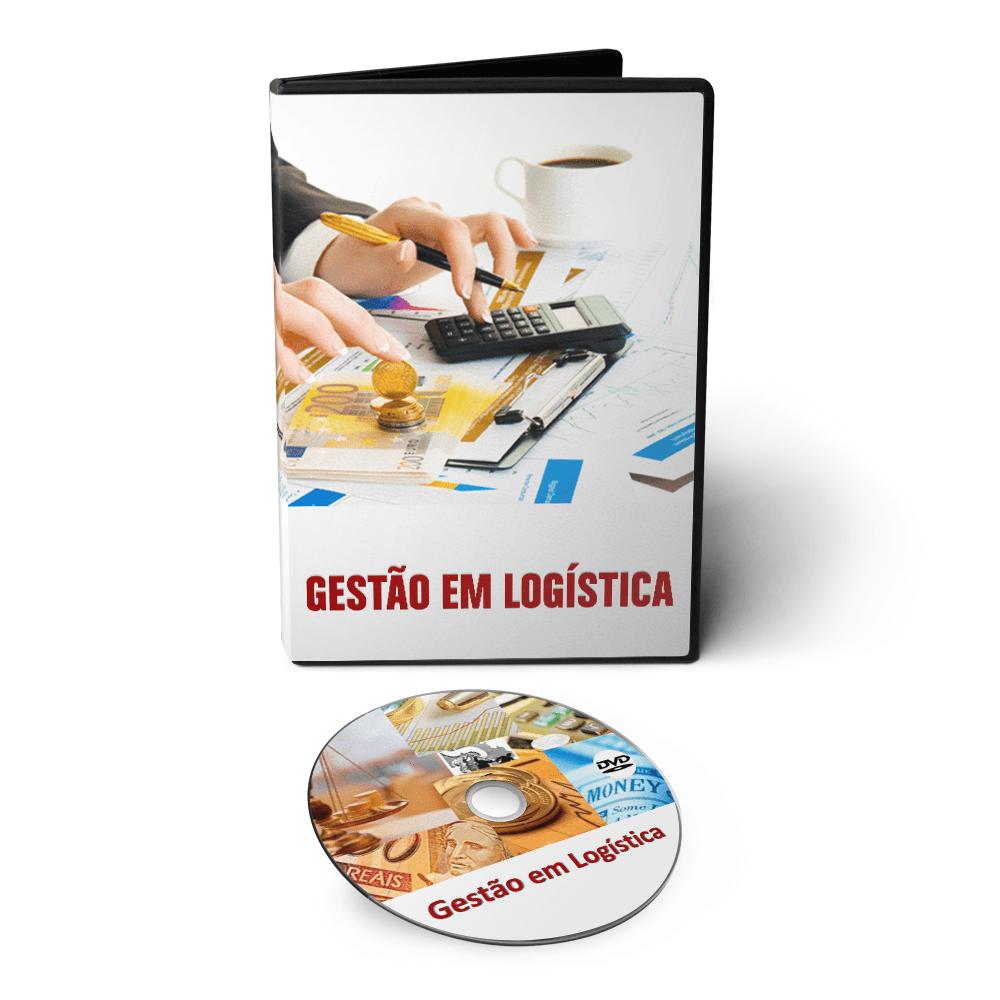 Curso Gestão em Logística em DVD Videoaula  - Aprova Cursos