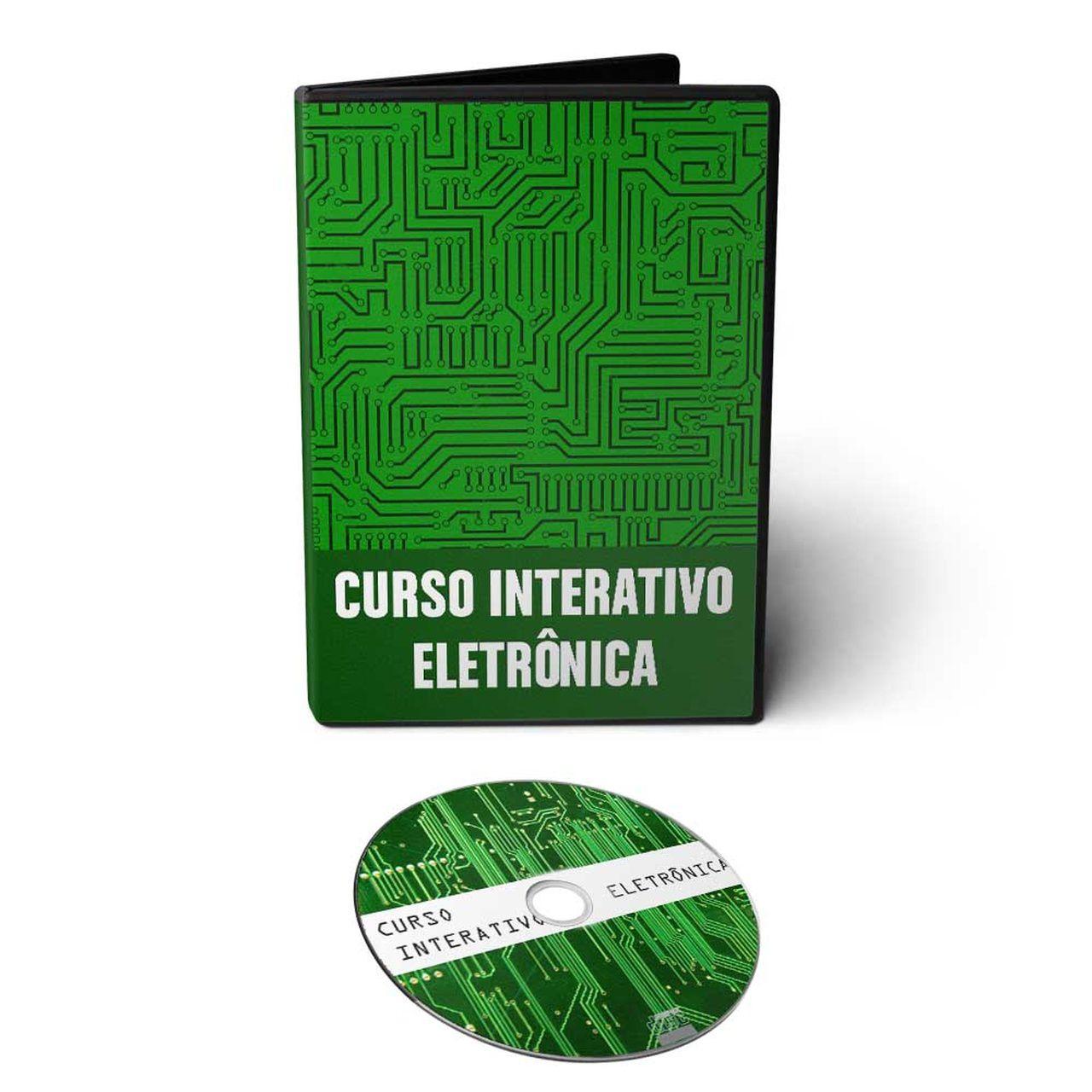 Curso Interativo de Eletrônica em CD