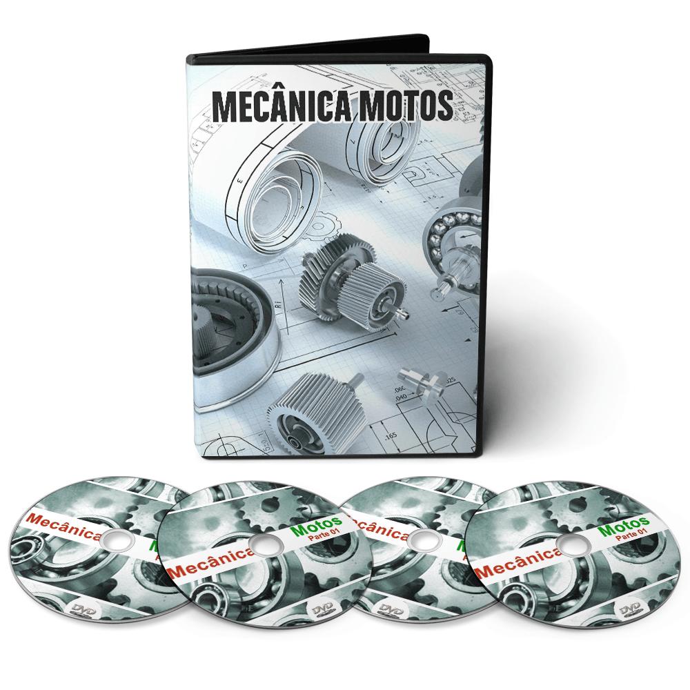 Curso Mecânica de Motos CG Titan em 05 DVDs Videoaula