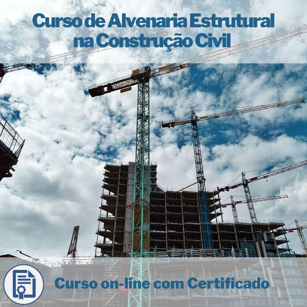 Curso on-line de Alvenaria Estrutural na Construção Civil com Certificado