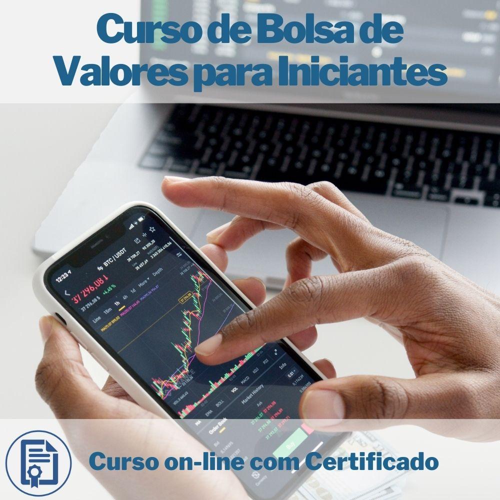 Curso on-line de Bolsa de Valores para Iniciantes com Certificado  - Aprova Cursos