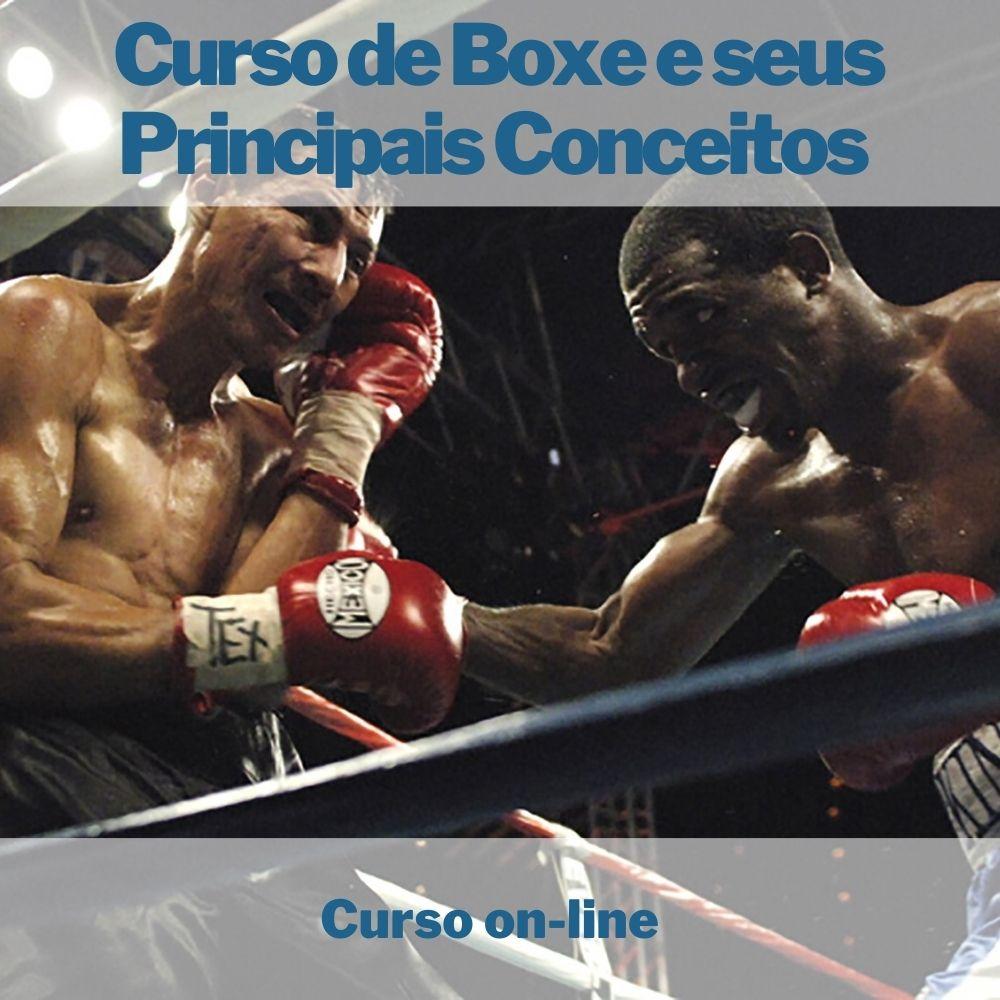Curso on-line de Boxe e seus Principais Conceitos