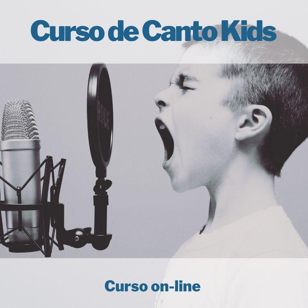 Curso on-line de Canto Kids
