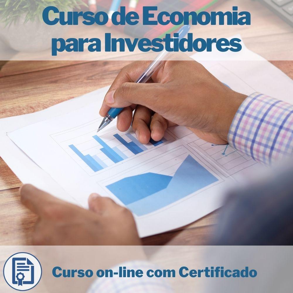 Curso on-line de Economia para Investidores com Certificado
