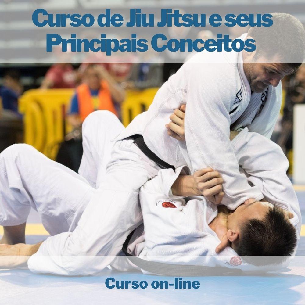Curso on-line de Jiu Jitsu e seus Principais Conceitos