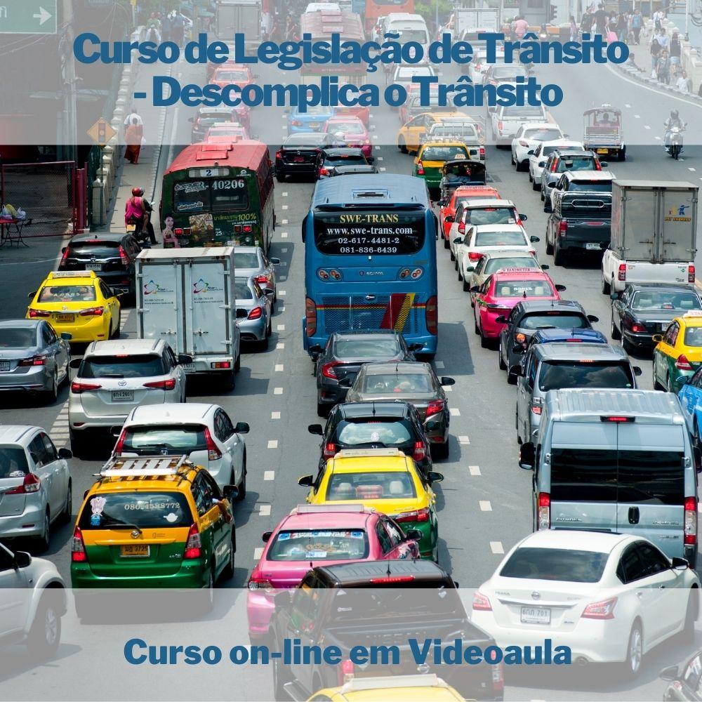 Curso on-line de Legislação de Trânsito - Descomplicando o Trânsito