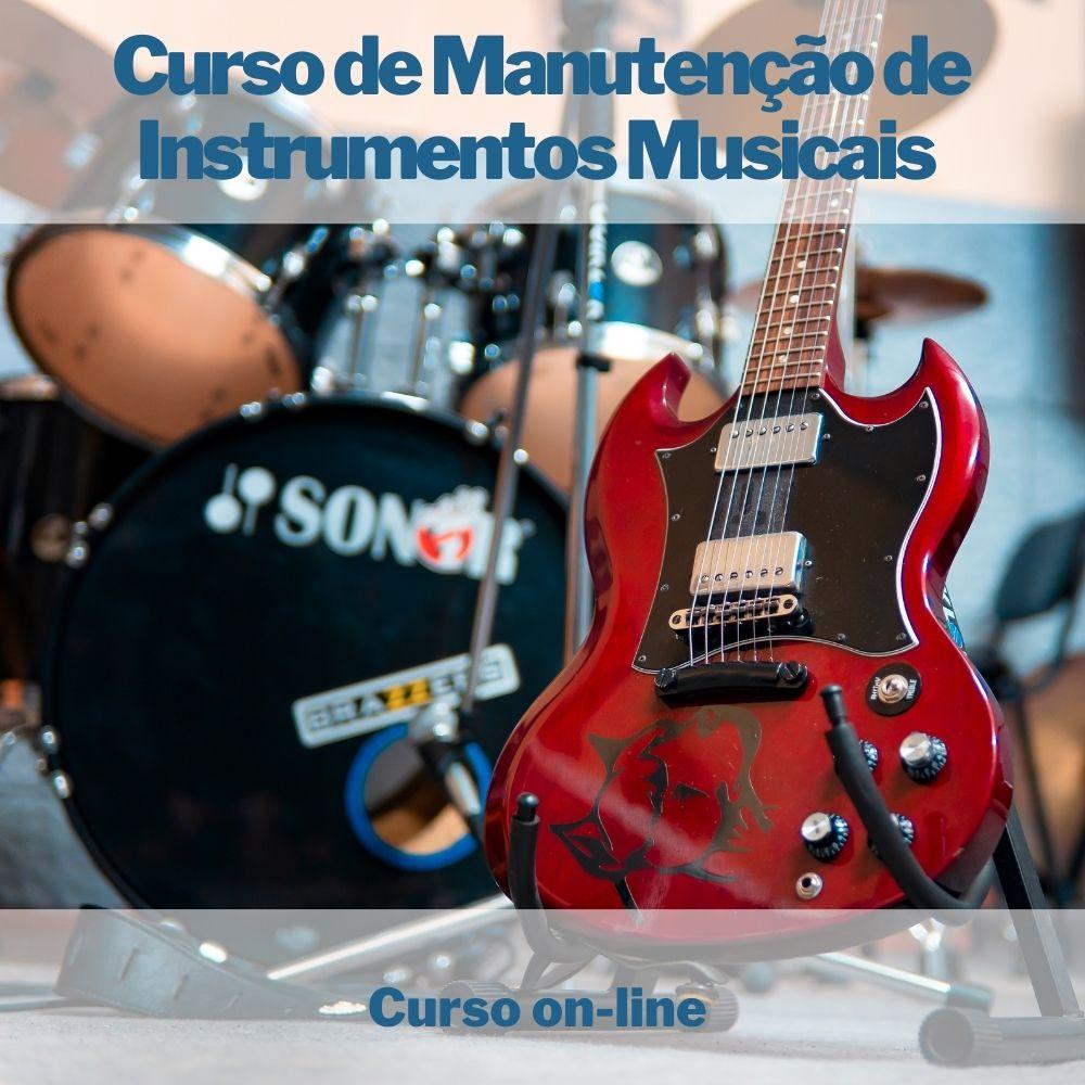Curso on-line de Manutenção de Instrumentos Musicais