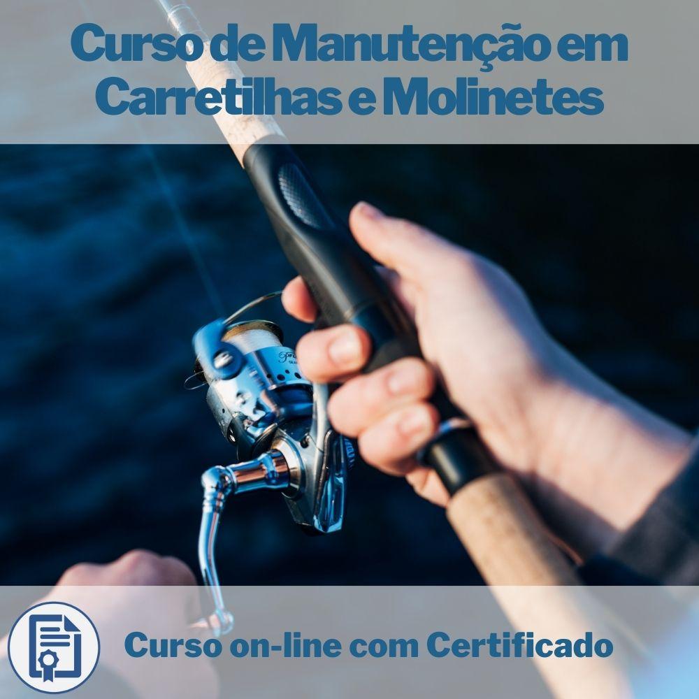 Curso on-line de Manutenção em Carretilhas e Molinetes com Certificado