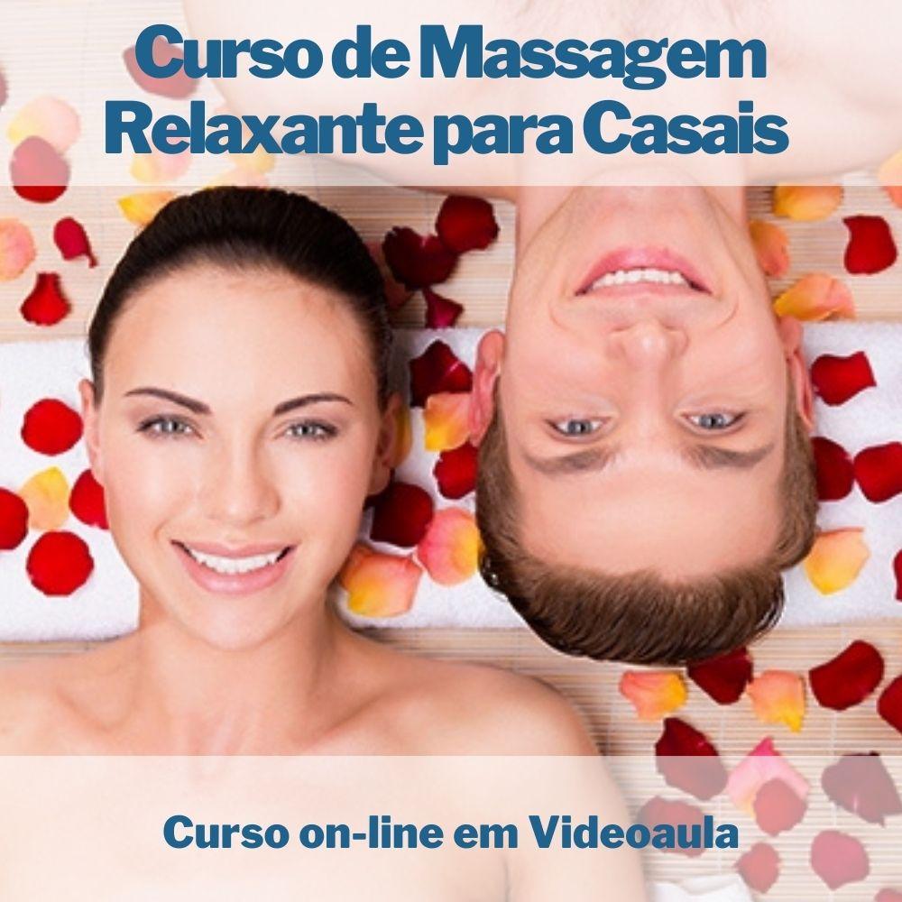 Curso on-line de Massagem Relaxante para Casais com Certificado