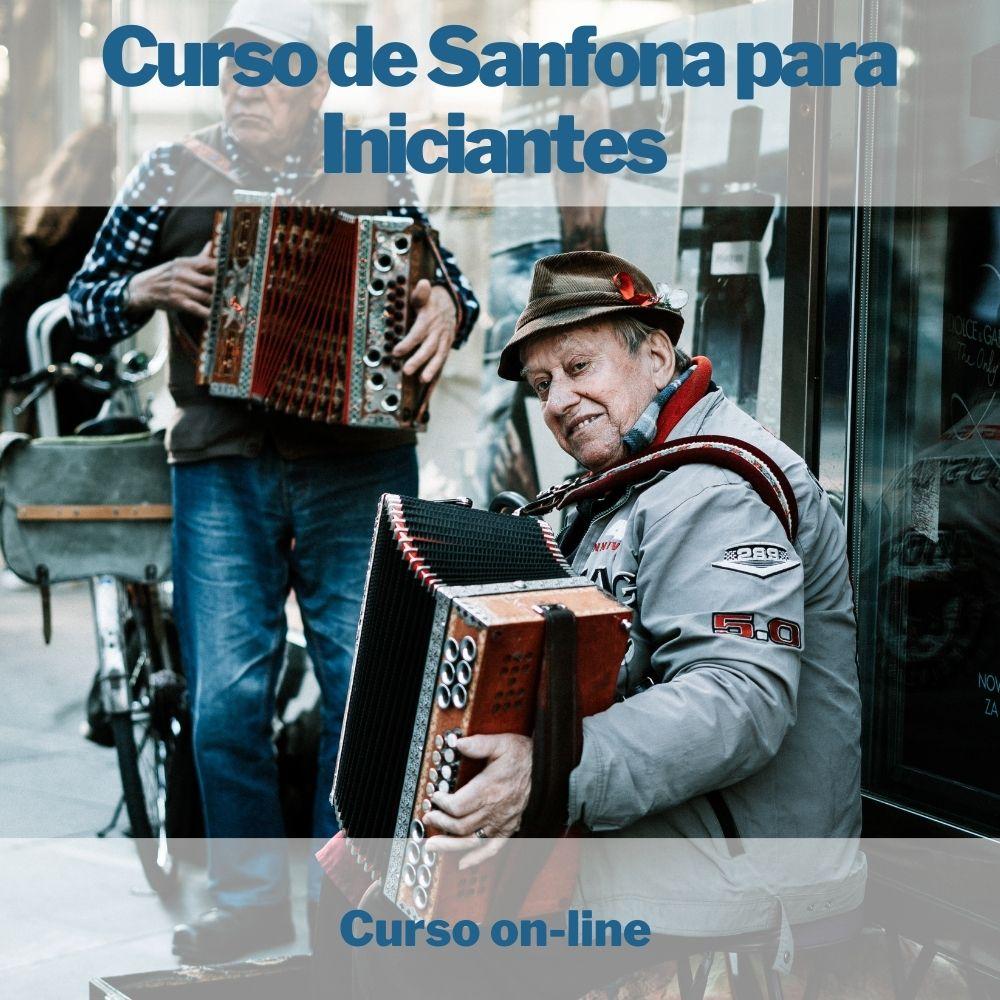 Curso on-line de Sanfona Para Iniciantes