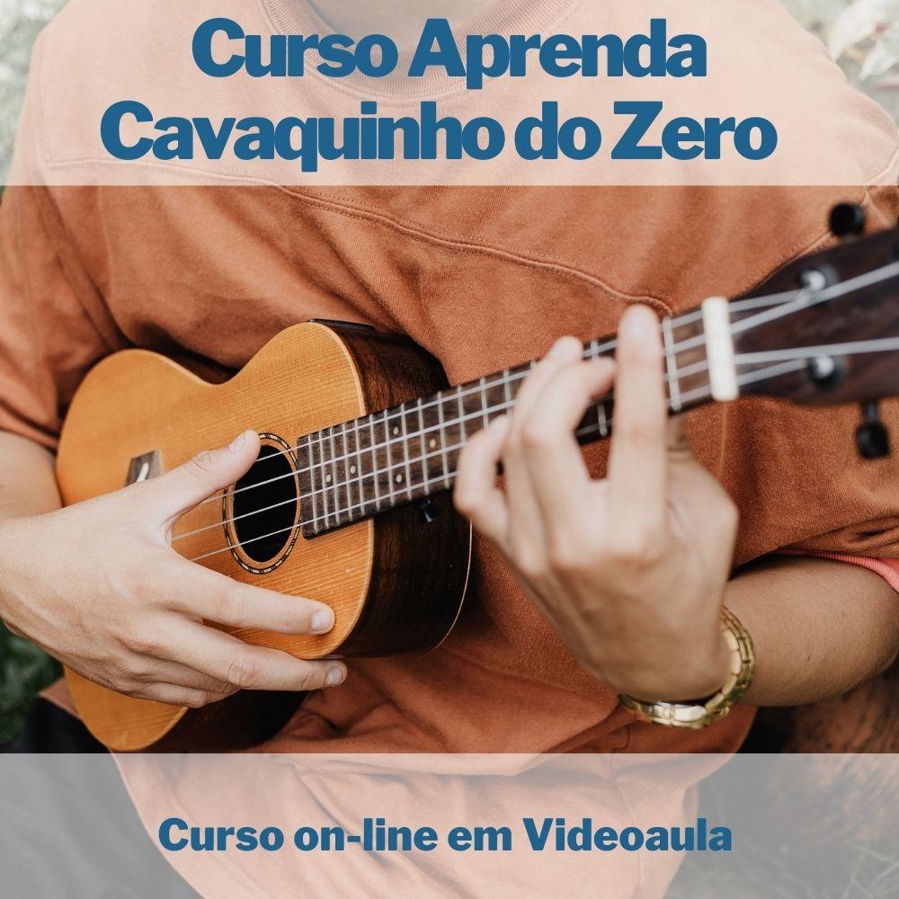 Curso on-line em videoaula Aprenda Cavaquinho do Zero