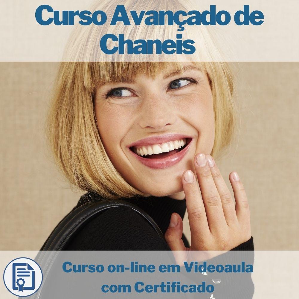 Curso on-line em videoaula Avançado de Chaneis com Certificado