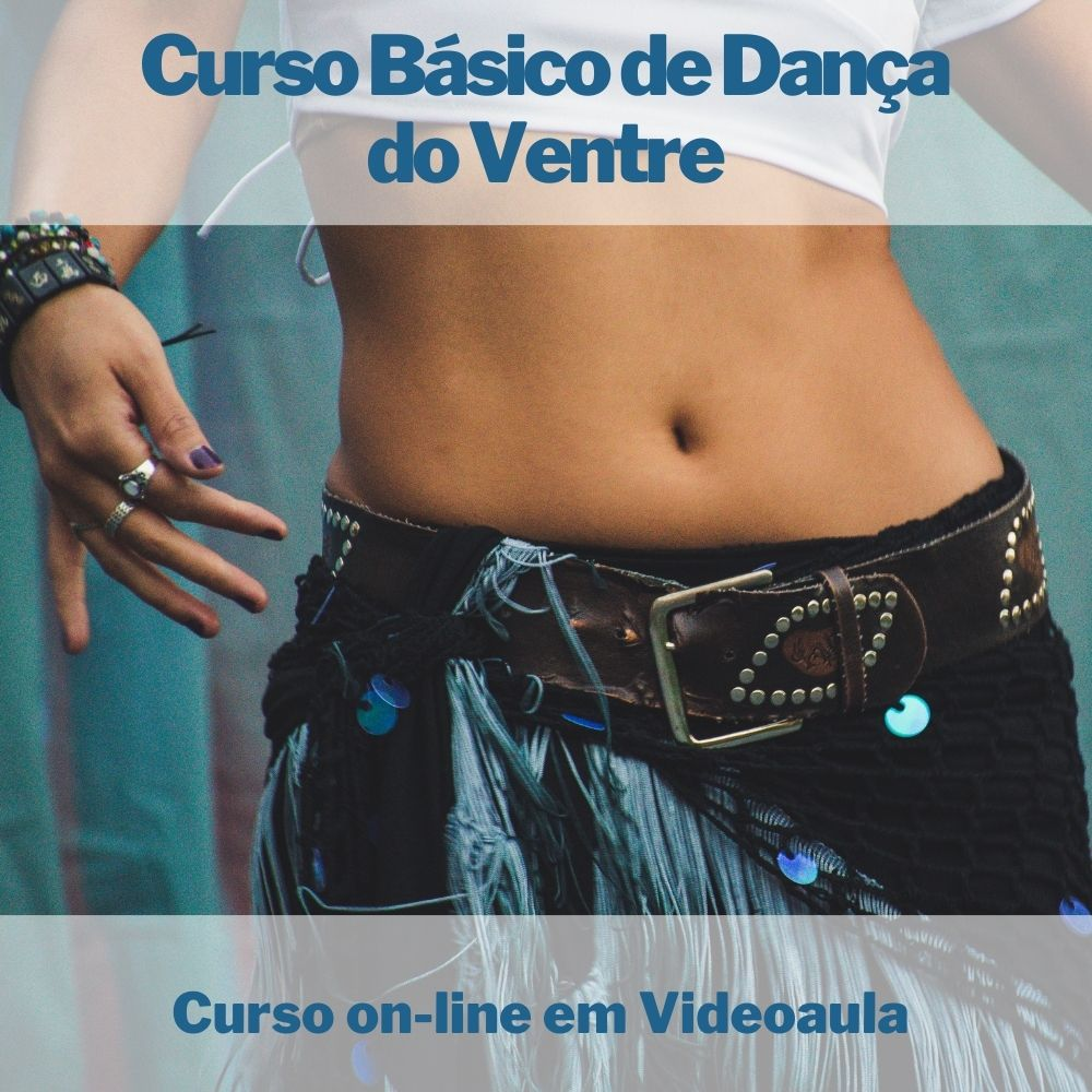 Curso on-line em videoaula Básico de Dança do Ventre  - Aprova Cursos