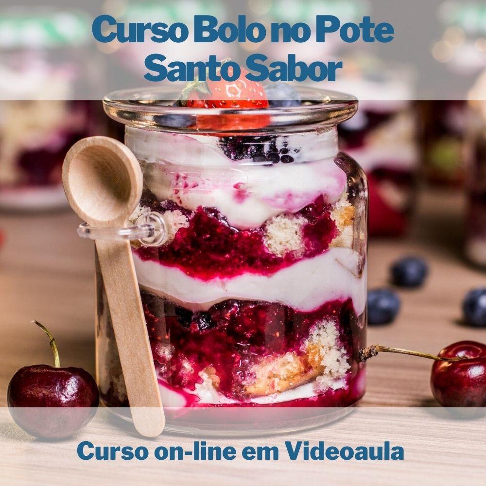 Curso on-line em videoaula Bolo no Pote  - Aprova Cursos