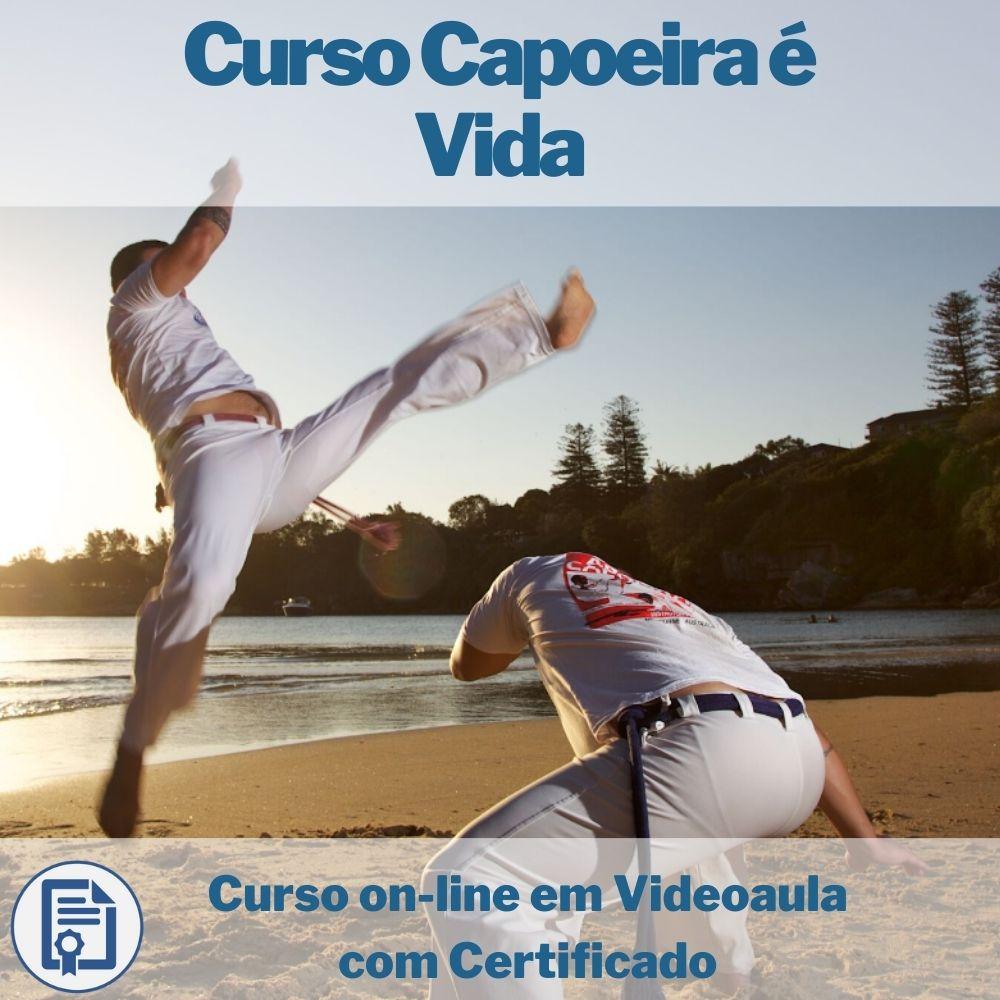 Curso on-line em videoaula Capoeira é Vida com Certificado