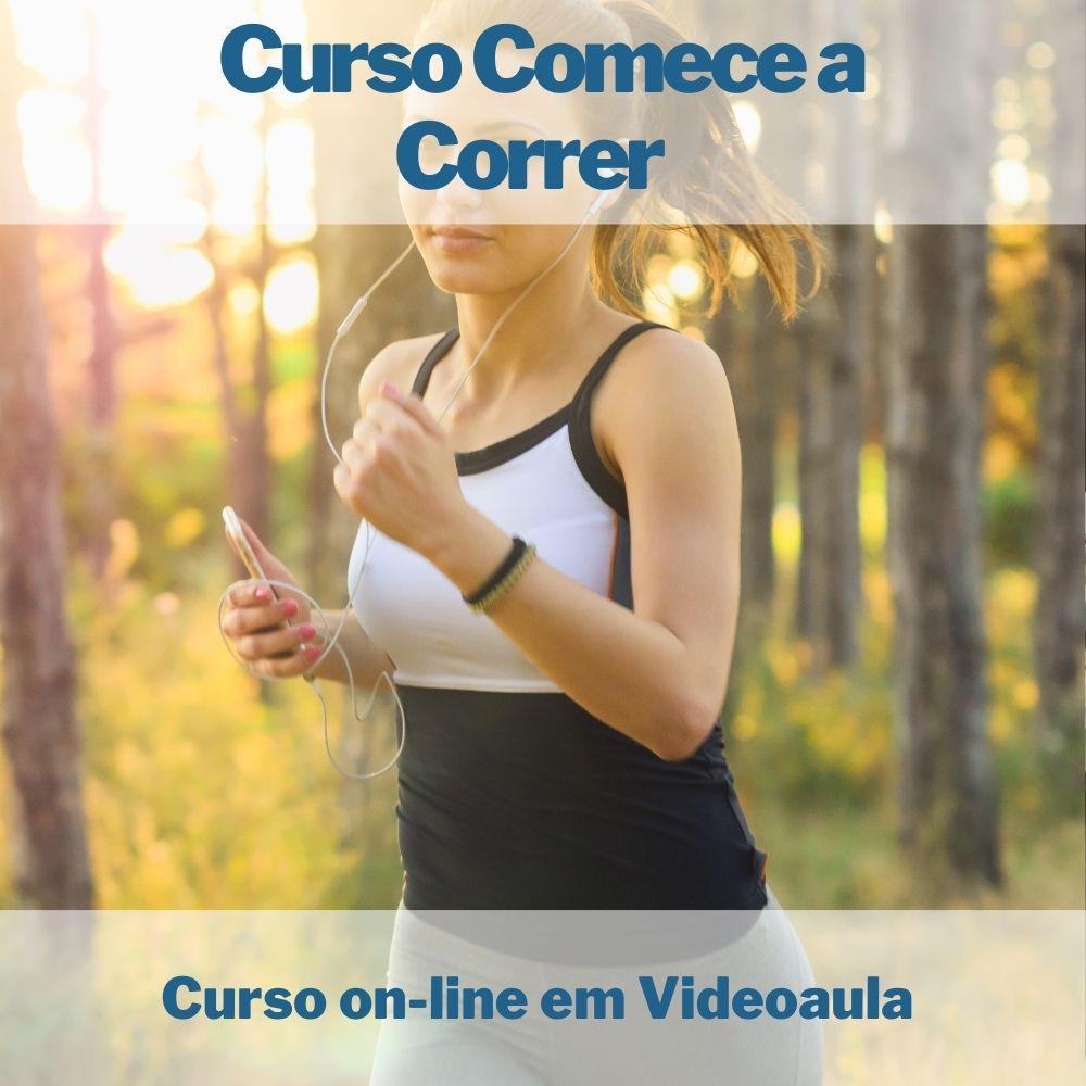 Curso on-line em videoaula Comece a Correr