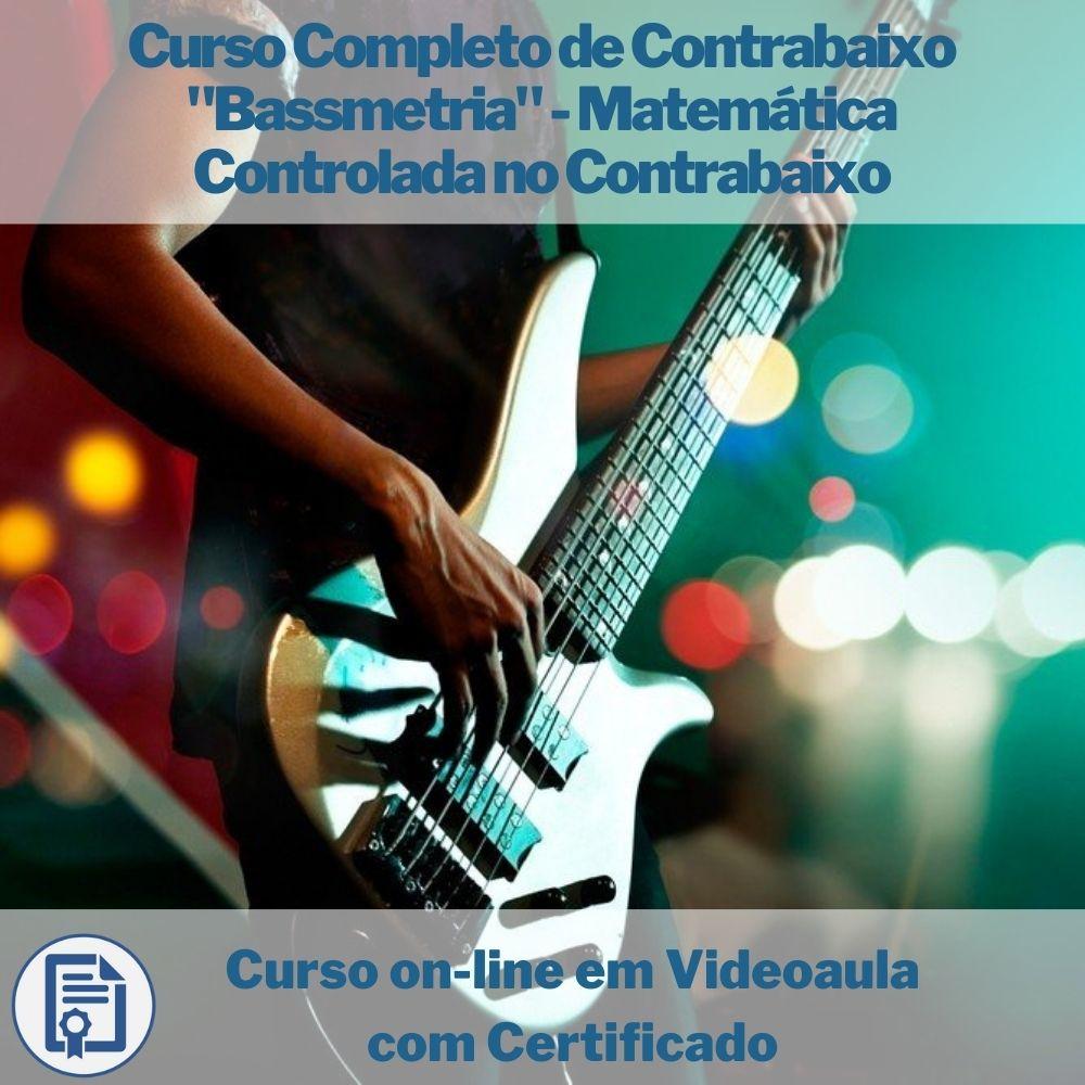 Curso on-line em videoaula Completo de Contrabaixo
