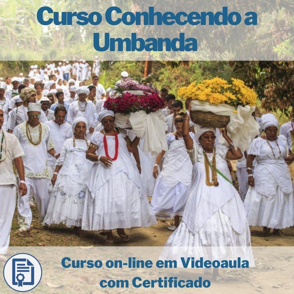 Curso on-line em videoaula Conhecendo a Umbanda com Certificado