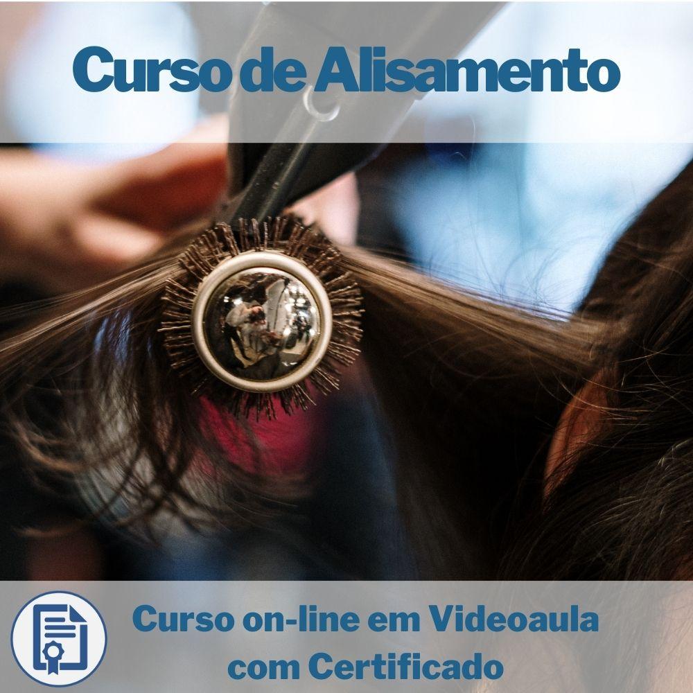 Curso on-line em videoaula de Alisamento com Certificado