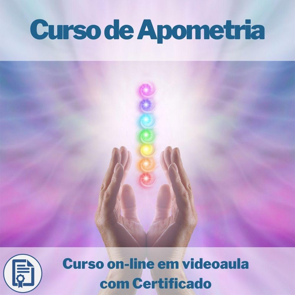 Curso on-line em videoaula de Apometria com Certificado