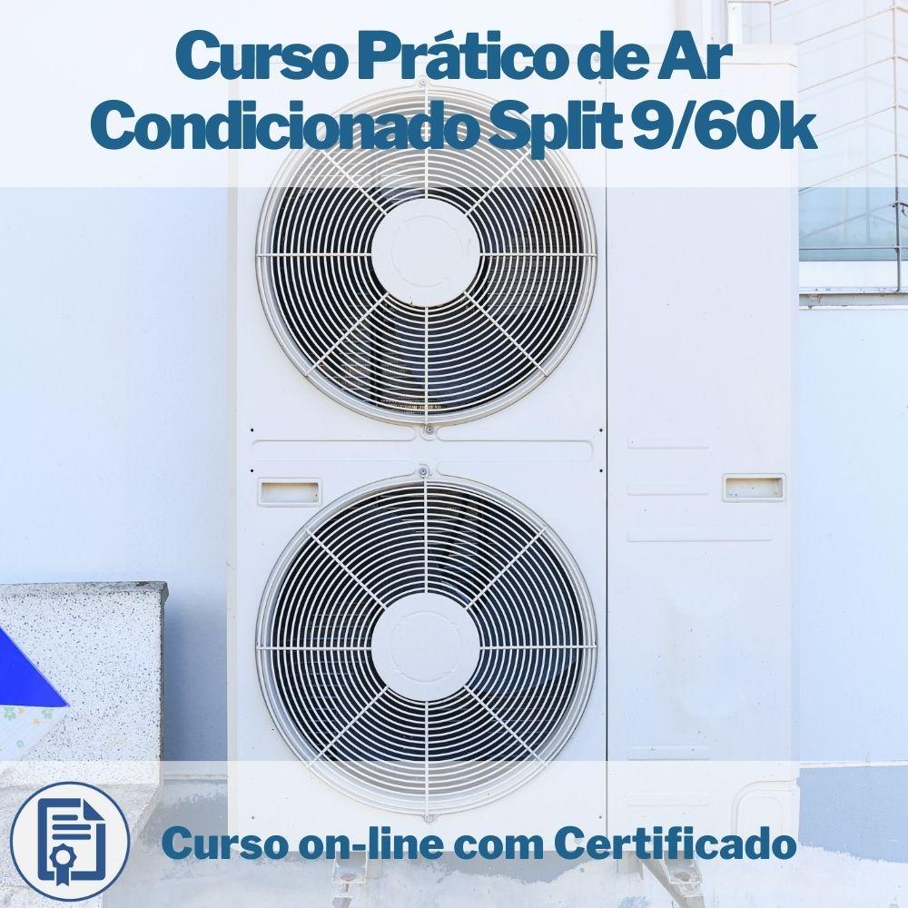 Curso on-line em videoaula de Ar Condicionado Split com Certificado
