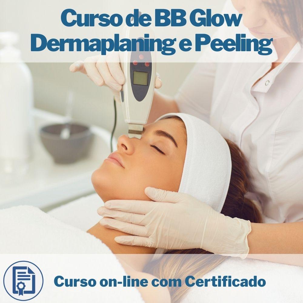 Curso on-line em videoaula de BB Glow Dermaplaning e Peeling com Certificado
