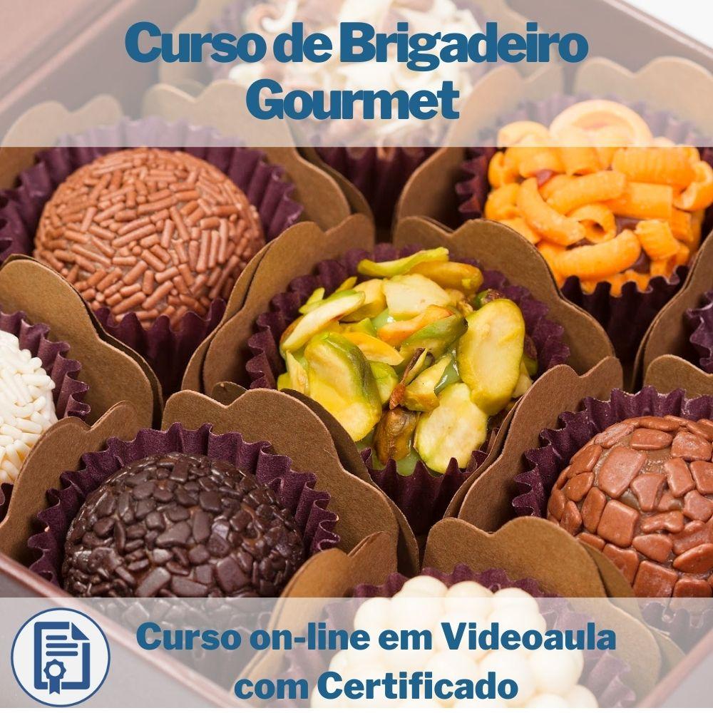 Curso on-line em videoaula de Brigadeiro Gourmet com Certificado