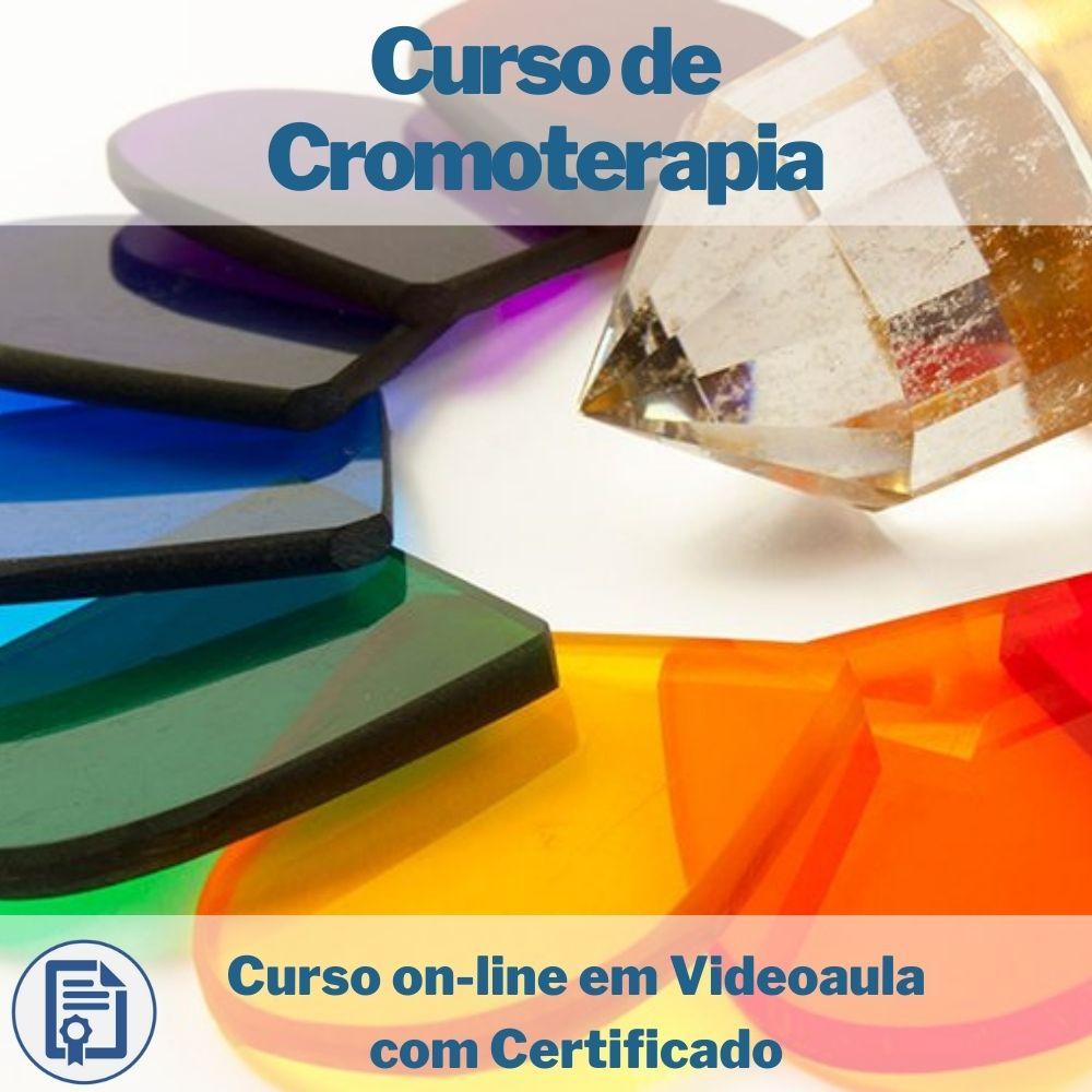 Curso on-line em videoaula de Cromoterapia com Certificado