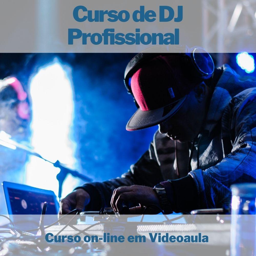 Curso on-line em videoaula de DJ Profissional