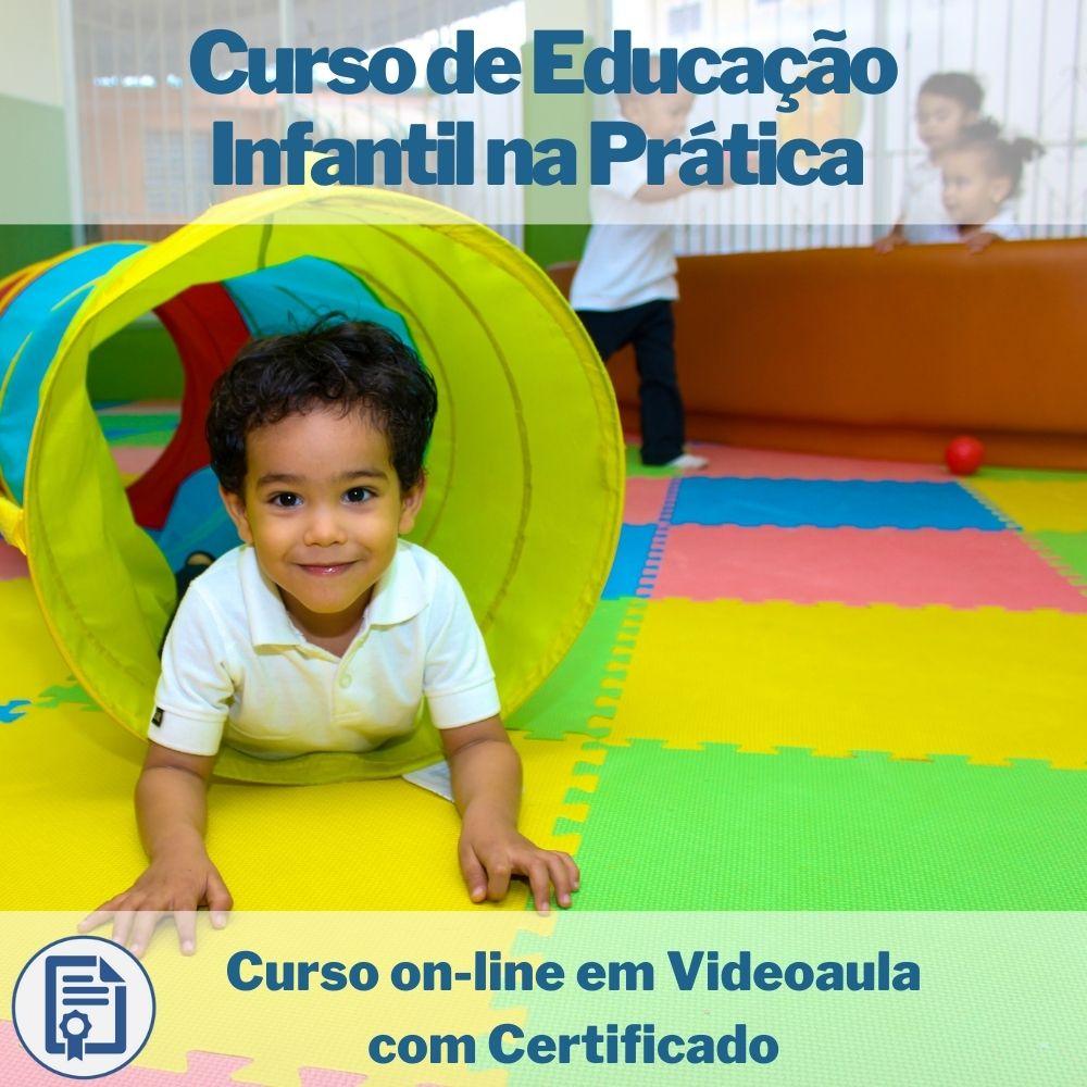 Curso on-line em videoaula de Educação Infantil na Prática com Certificado