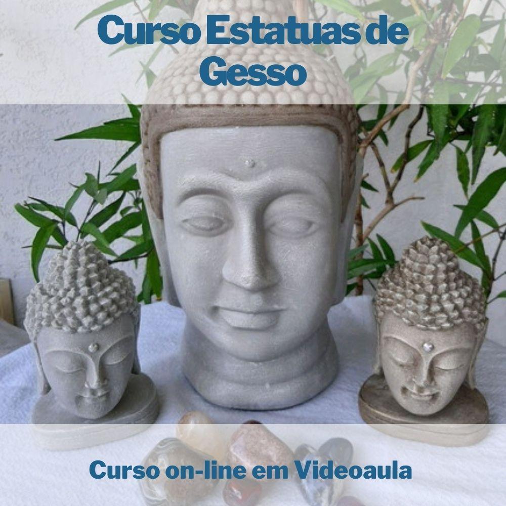 Curso on-line em videoaula de Estatuas e Vasos de Gesso