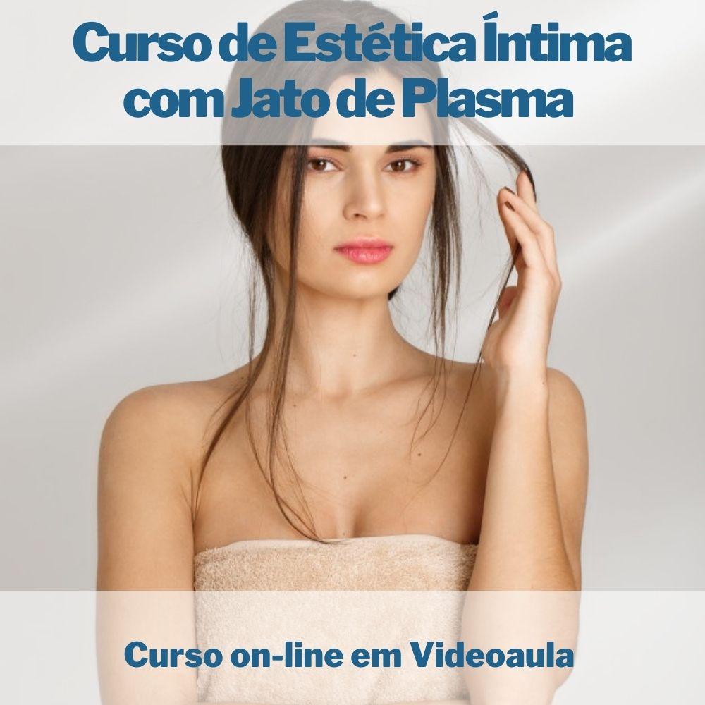 Curso on-line em videoaula de Estética Íntima com Jato de Plasma