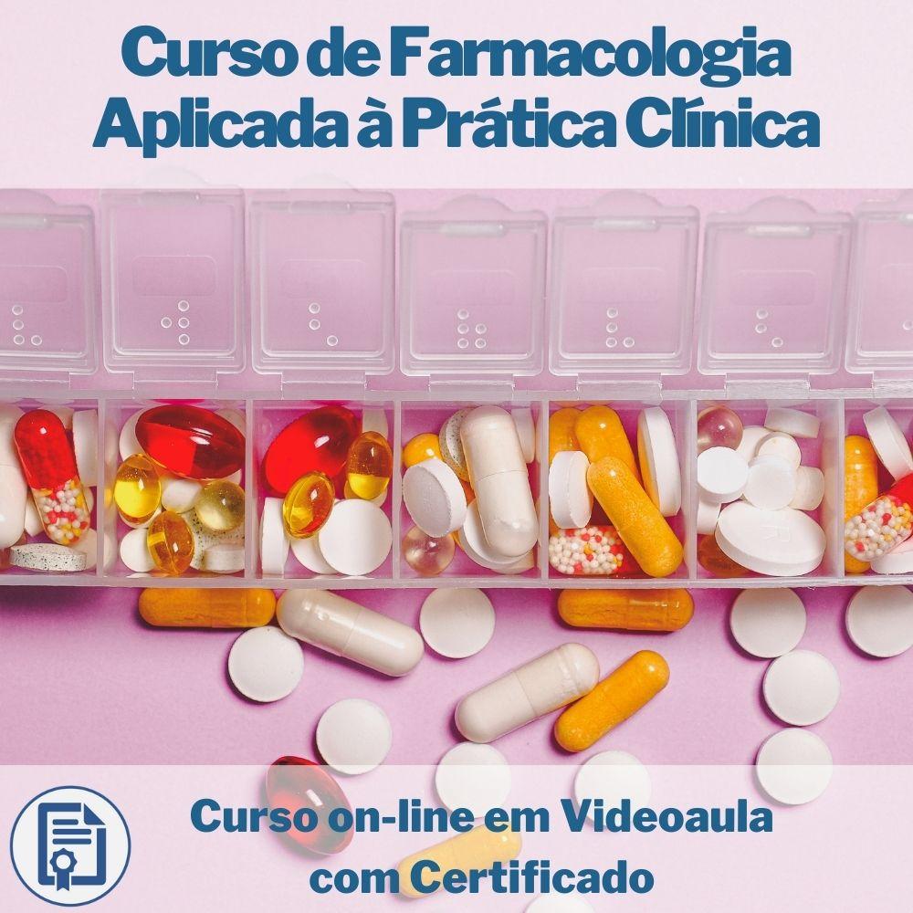 Curso on-line em videoaula de Farmacologia Aplicada à Prática Clínica com Certificado